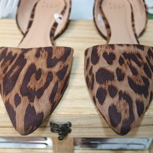 a new day Shoes - A new day pointed animal print